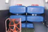 Емкости под воду в салоне ГАЗ-34039